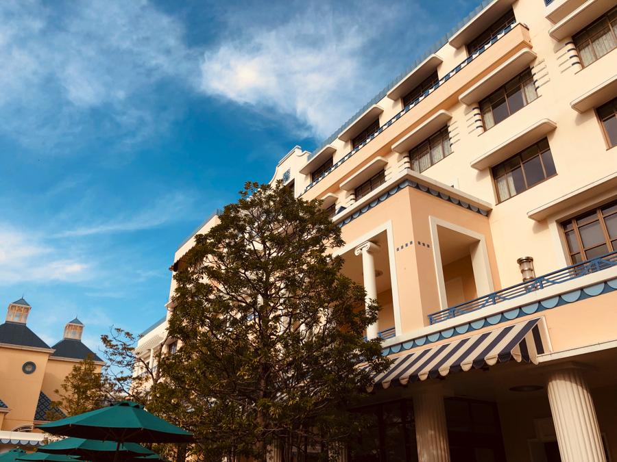 ホテルレビュー:ディズニーアンバサダーホテル スタンダードルーム コーナールーム