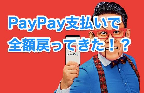 PayPay祭り開催中!私も早速恩恵受けてきました。PayPay使ってない人は今すぐ登録しよう!