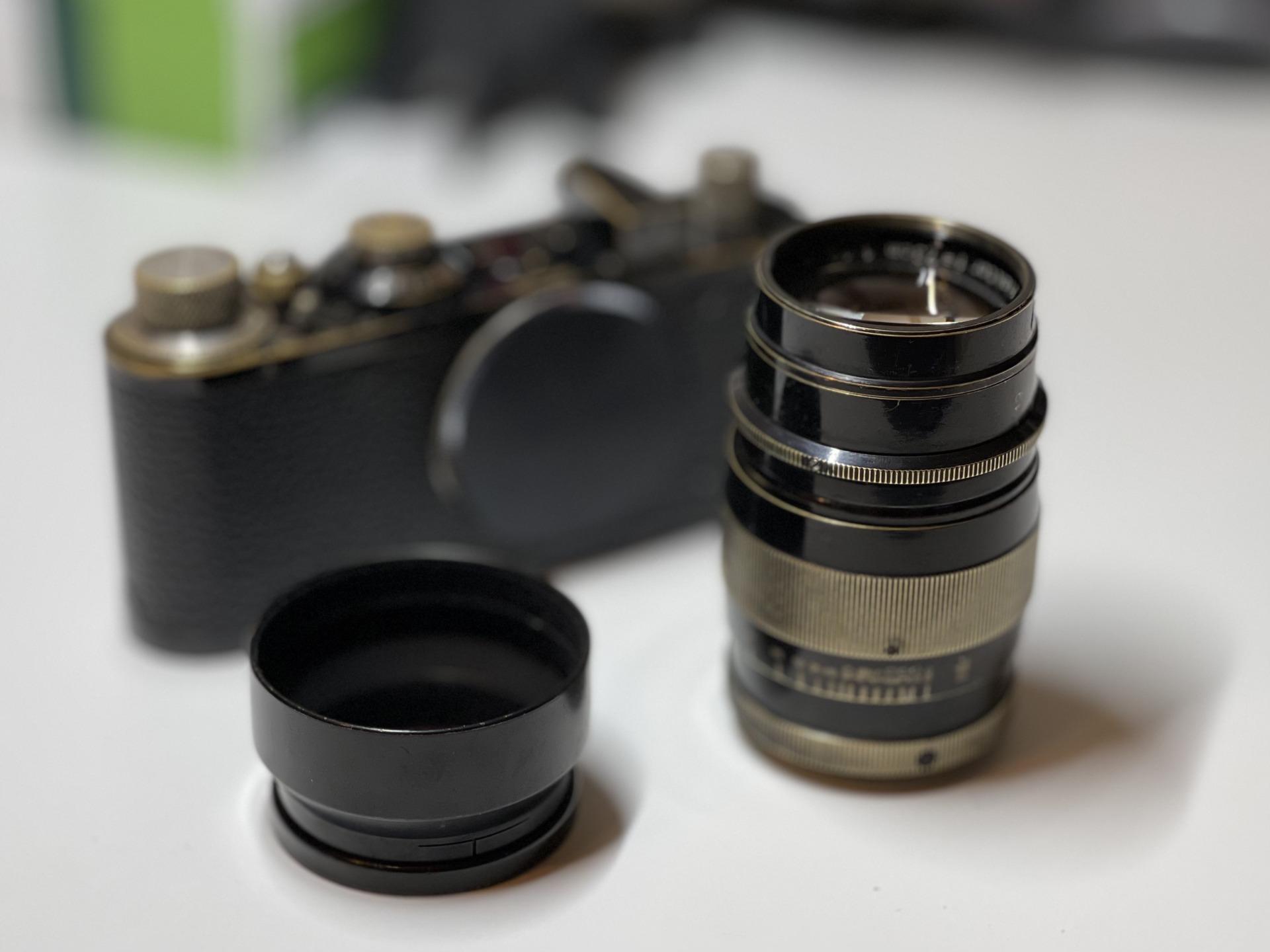 山崎磨きになったHektor 7.3cm f1.9が帰ってきました。山崎光学写真レンズ研究所